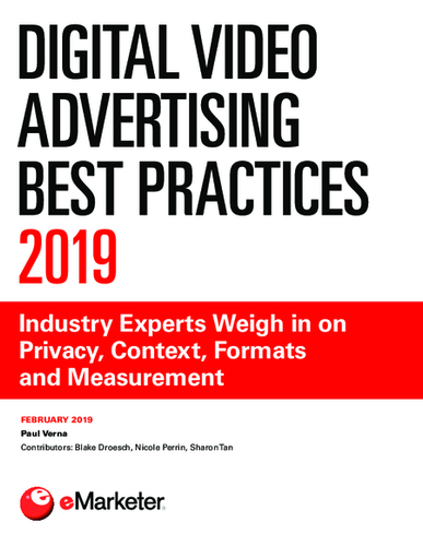 Digital Video Advertising Best Practices 2019: Industry Experts Weigh in on Privacy, Context, Formats and Measurement