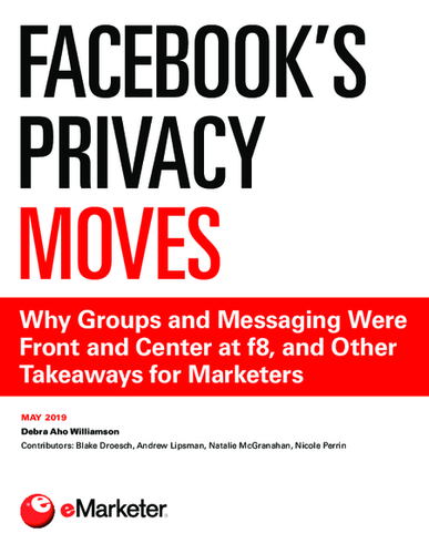 Facebook's Privacy Moves: Why Groups and Messaging Were Front and Center at f8, and Other Takeaways for Marketers