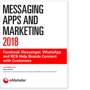 Messaging Apps and Marketing 2018: Facebook Messenger, WhatsApp and RCS Help Brands Connect with Customers