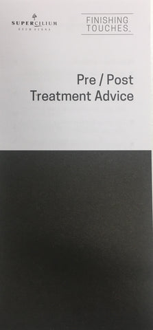 Pre & Post Treatment Leaflet - Henna