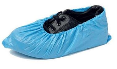 Disposable blue overshoes, pack of 100