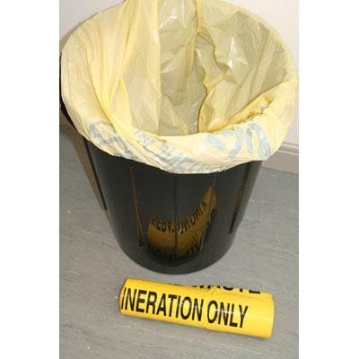 Waste Bags (Yellow Hazard)