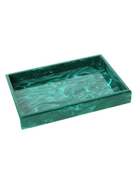 Vanity Malachite Marble Tray Photo 1