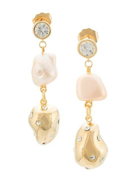 Evolution Drop Pearl Earrings