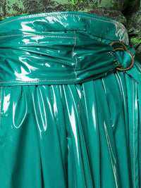Glossy Belted Skirt Photo 5