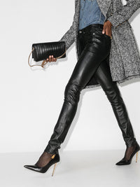 Leather Skinny Trousers Photo 2