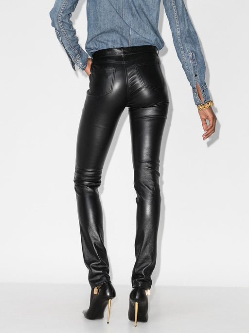 Leather Skinny Trousers