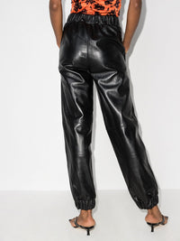 Leather Jogger Pant Photo 3