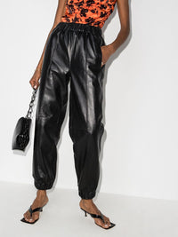 Leather Jogger Pant Photo 2