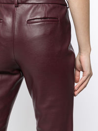 Charles Flare Leather Trousers Photo 5