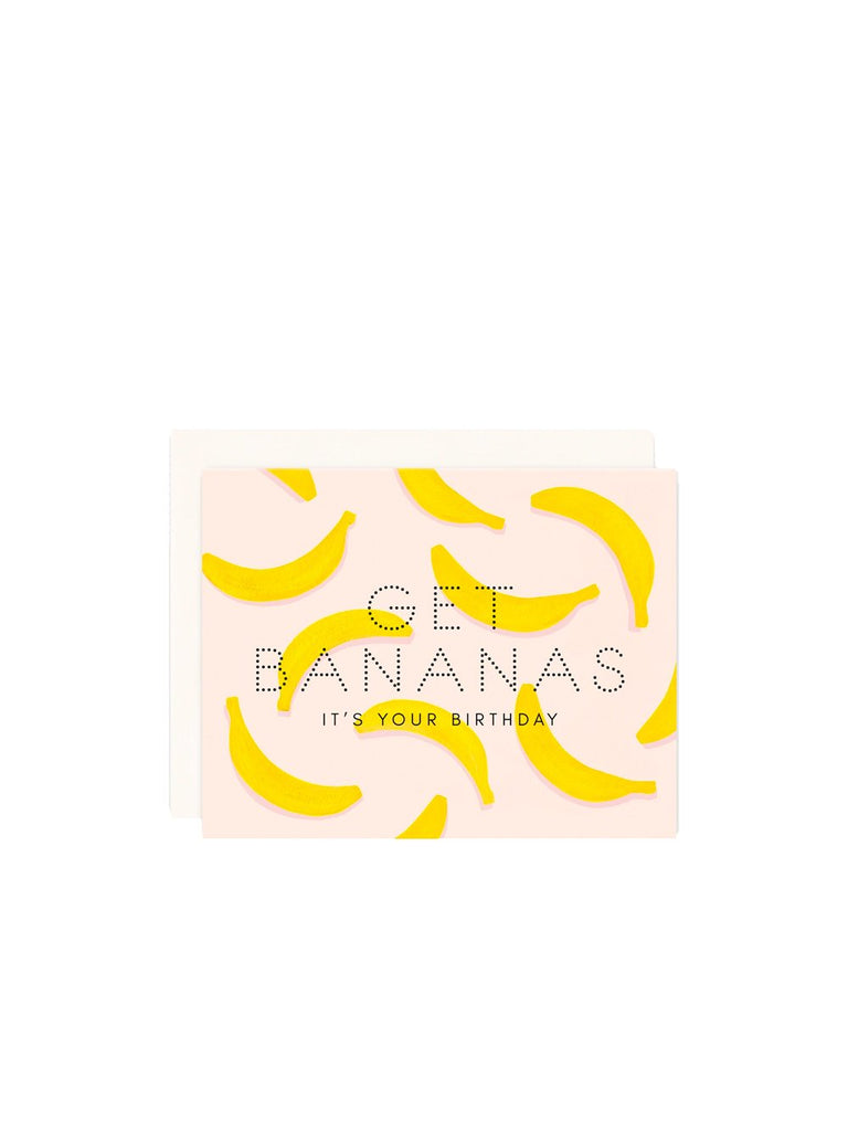 Get Bananas Birthday Card