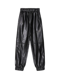Leather Jogger Pant Photo 1