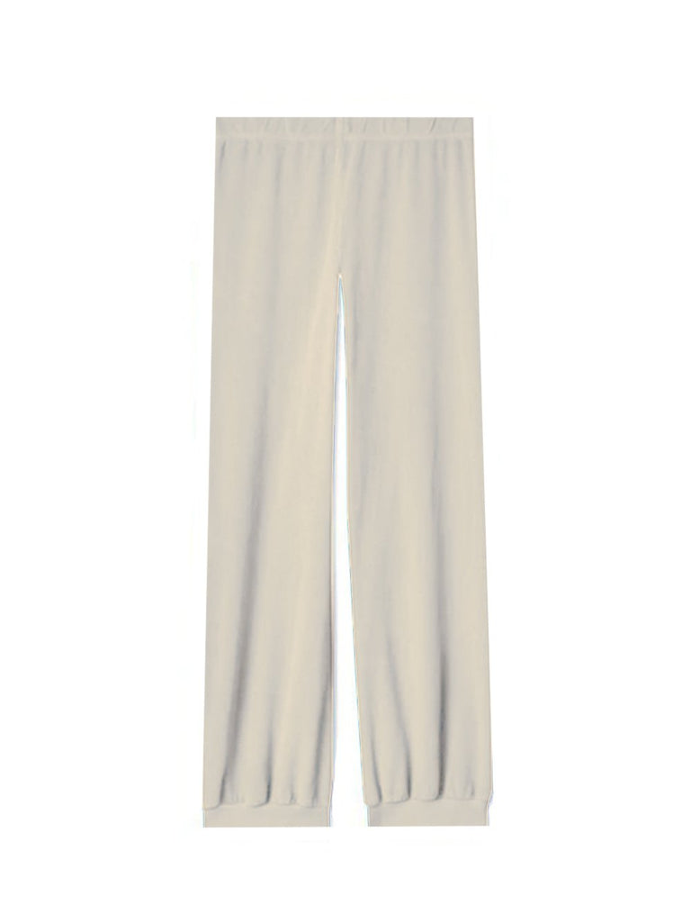 High-Waisted Harem Velour Pant