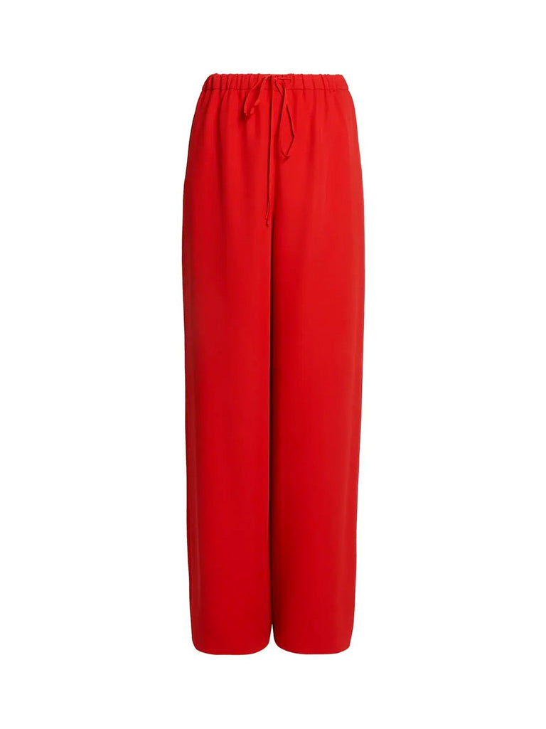 High-Waisted Loose Flare Pant