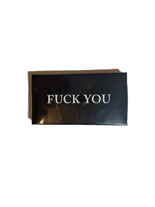 """F You, F Me"" Embossed Matchbox"