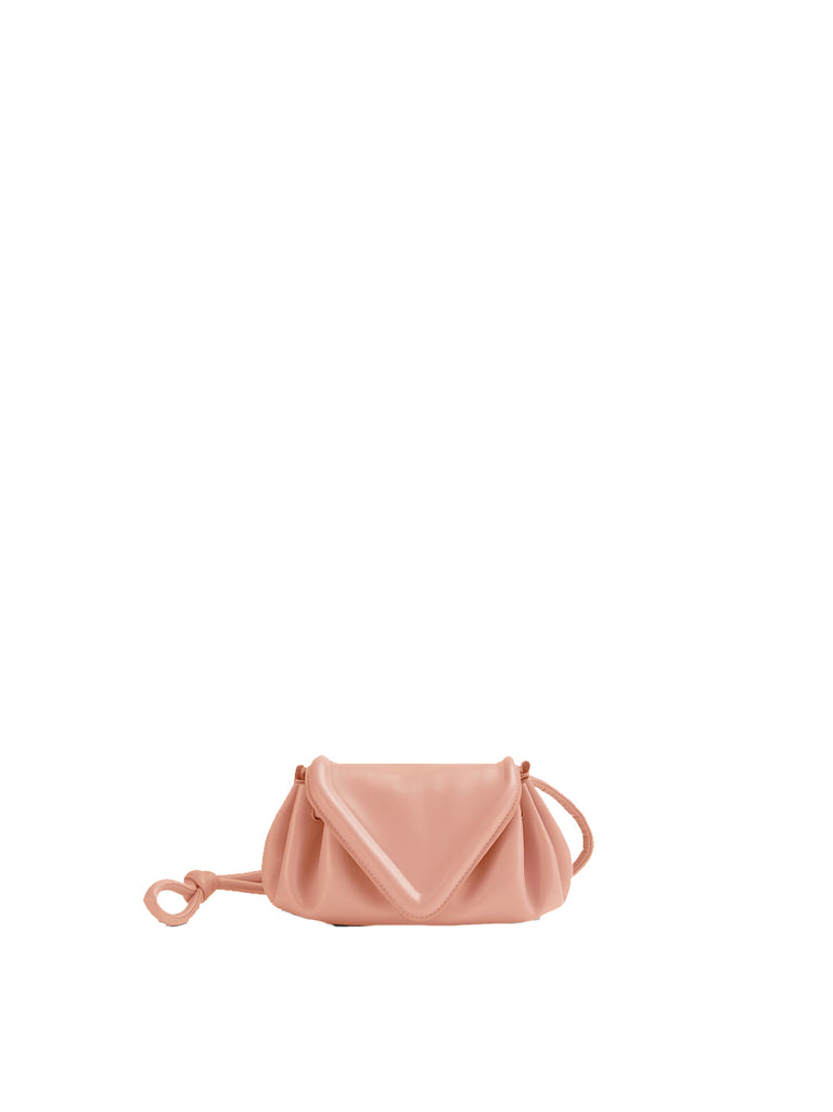Nappa Triangle Flap Crossbody Bag