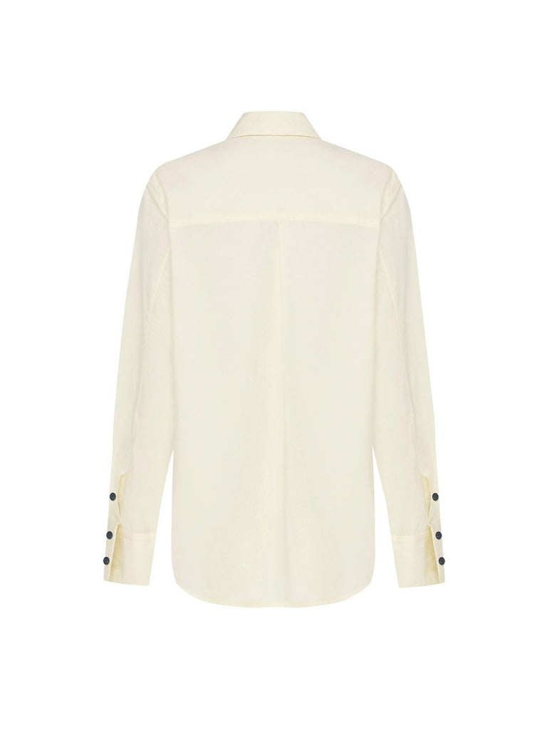 Button-Front Longsleeve Shirt