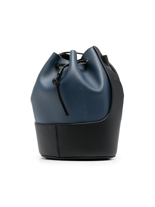 Balloon Paneled Bucket Bag