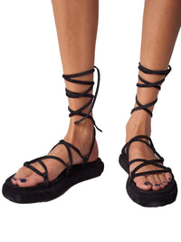 Alba Side Wrap Sandal Photo 4