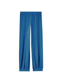 High-Waisted Harem Velour Ankle Pant Photo 1