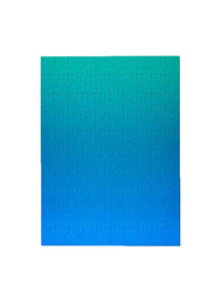 Blue Green Gradient Puzzle Photo 2