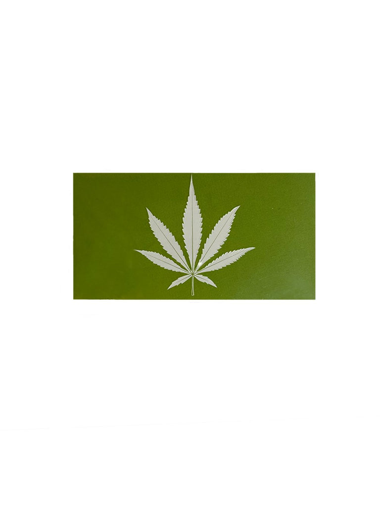 Marijuana Leaf Matchbox