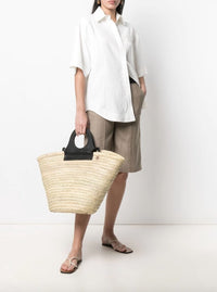Linen Blend Boxy Shirt Photo 2