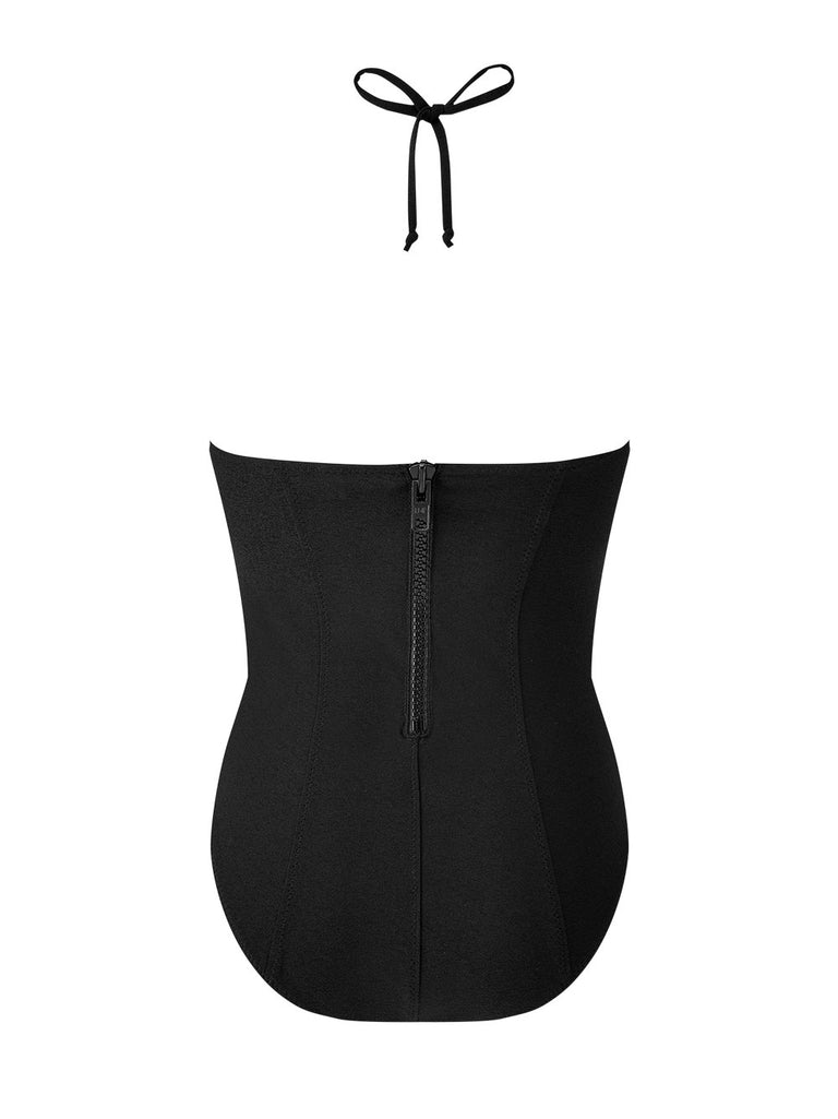 Halter Corset Maillot