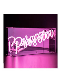 Prosecco Neon Acrylic Box Photo 1