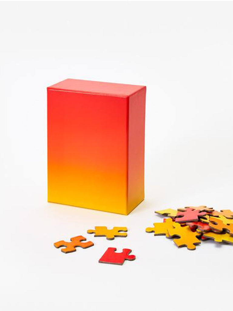 Yellow Red Gradient Puzzle