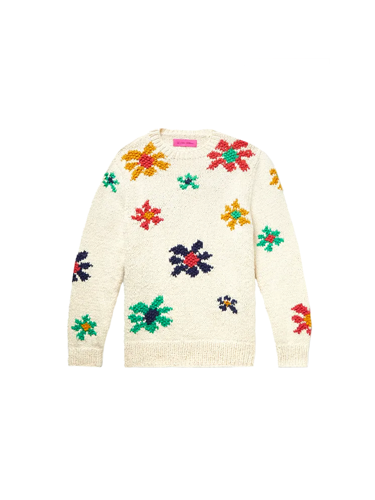 Flower Blast Crewneck Sweater
