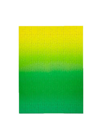 Yellow Green Gradient Puzzle Photo 2