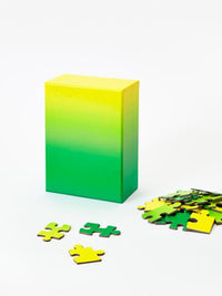 Yellow Green Gradient Puzzle Photo 1