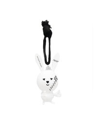 Bunny Glass Ornament Photo 1