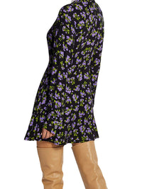 Floral Shirt Mini Dress Photo 3