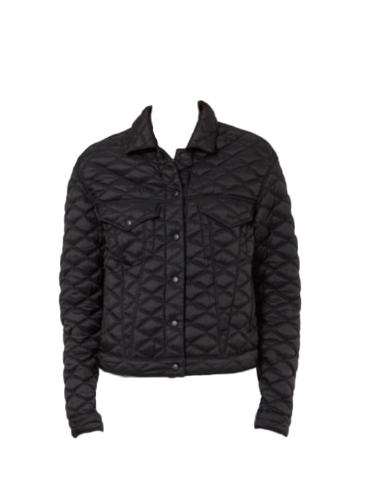 Erika Quilted Silk Bomber