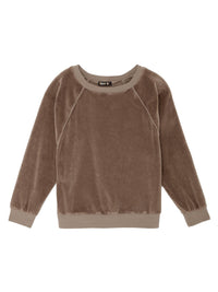 Raglan Velour Longsleeve Top Photo 1