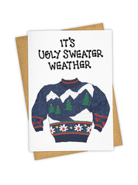 'Sweater Weather' Card Photo 1