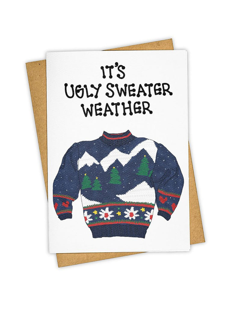 'Sweater Weather' Card