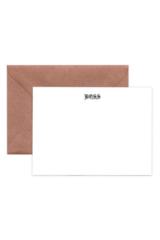 Boss Note Cards