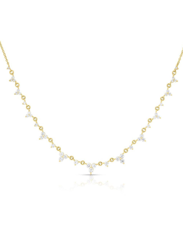 Yellow Gold Diamond Clara Necklace
