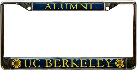 UC Berkeley Alumni License Plate