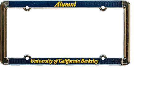 Alumni University of California Berkeley License Plate frame