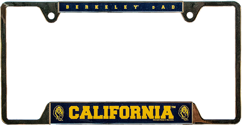 California Dad License Plate Frame