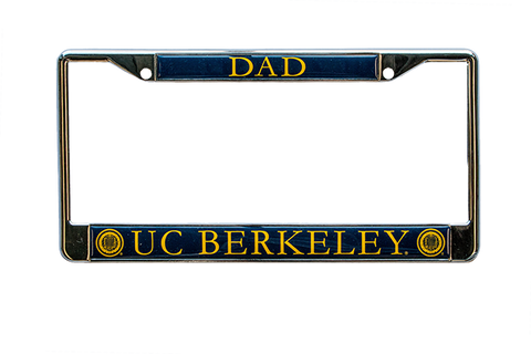 UC Berkeley Dad License Plate