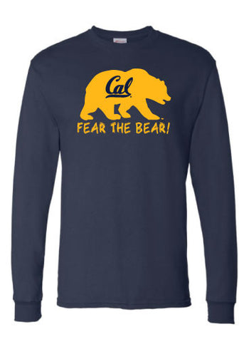 Fear the Bear Cal Long Sleeve Tee