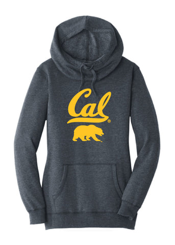 Cal with Walking Bear Tunnel Neck Hoodie