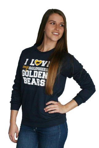I love my golden Bears American Apparel Crew