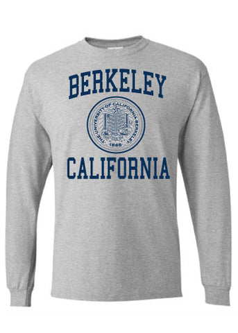 Berkeley California Seal Long Sleeve Tee