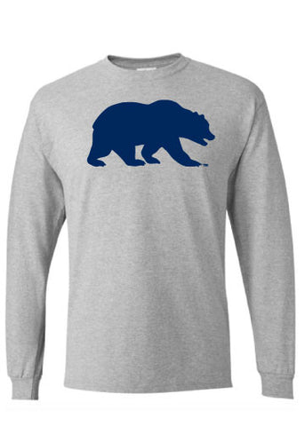 Cal Berkeley Walking Bear Long Sleeve Tee